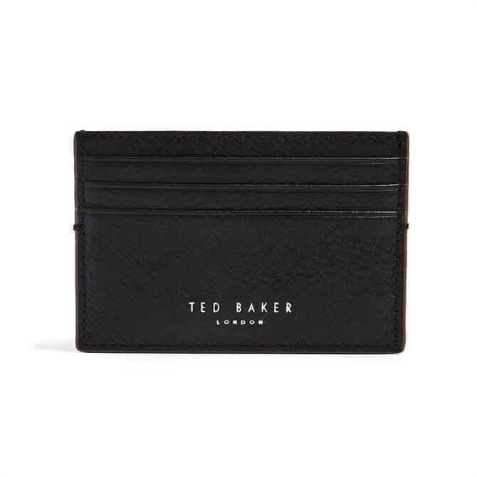 Ted Baker Cascade Black Leather Card Holder