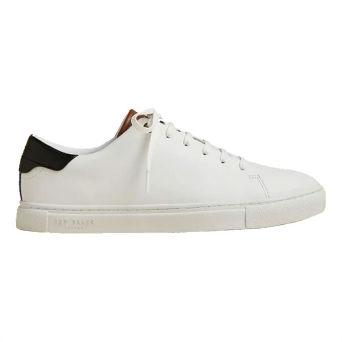 Ted Baker Leepow White Leather Trainers