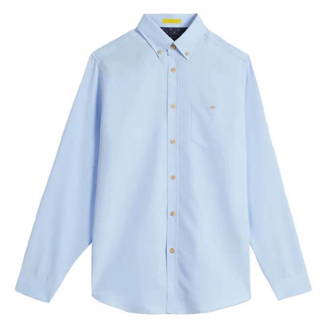 Ted Baker Piktur Light Blue Oxford Shirt