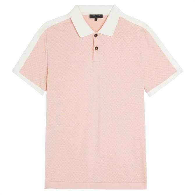 Ted Baker Virtual Polo Shirt with Overarm Detail