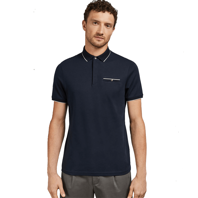 Ted Baker Fincham Cotton Polo Shirt