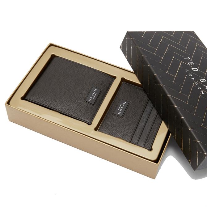 Ted Baker Grenada Leather Wallet and Cardholder Gift Set