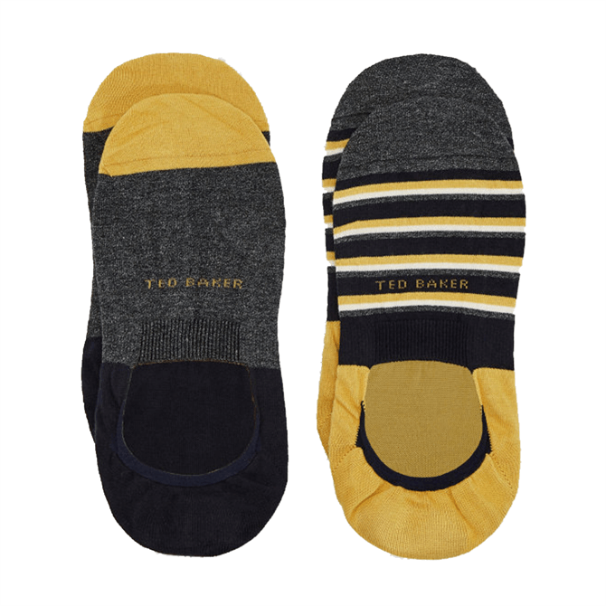 Ted Baker Kicks Plain and Striped Pantherella Sock Set