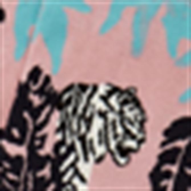 Ted Baker Milam Tiger Jungle Print Socks