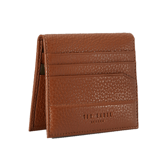 Ted Baker Steemer Leather Bifold Cardholder - Tan