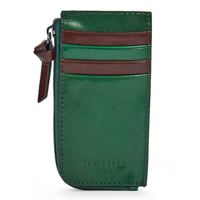 Ted Baker MINTS Leather Zip Up Cardholder