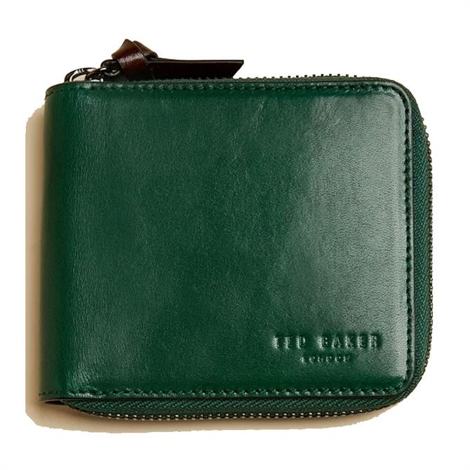 Ted Baker SPENNIE Leather Zip-Up Wallet