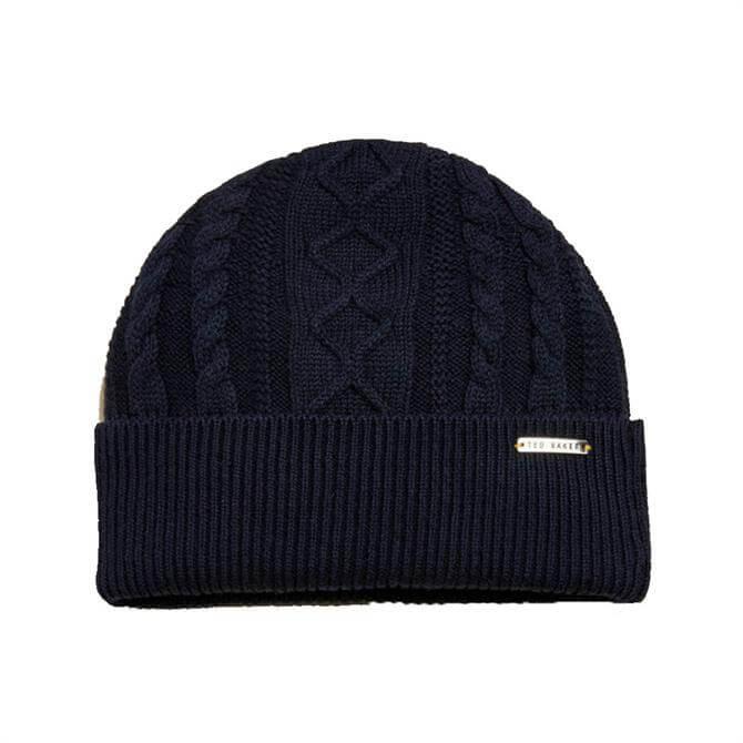 Ted Baker Vartan Multi Stitch Beanie Hat