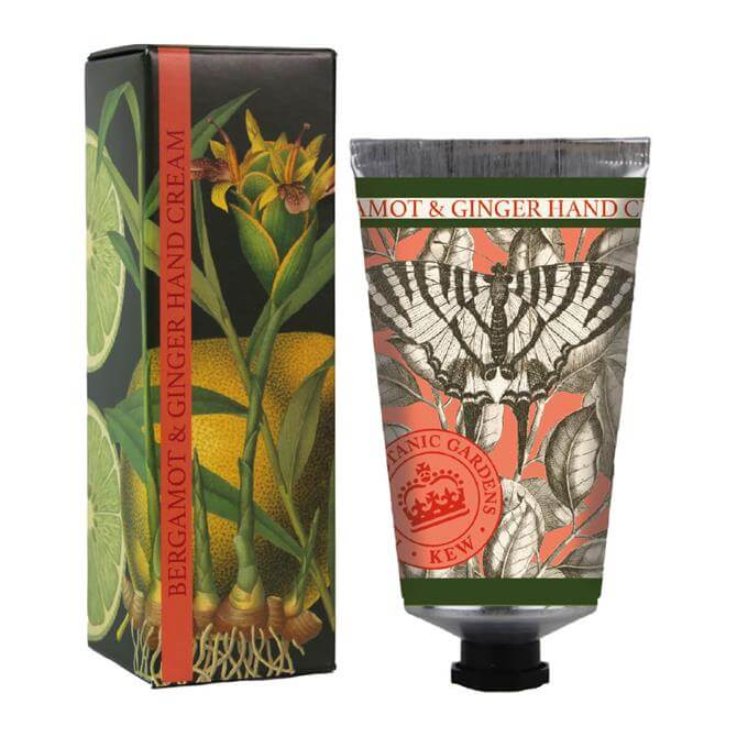 The English Soap Company Kew Gardens Hand Cream 75ml Bergamot & Ginger