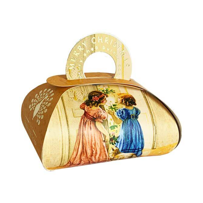 The English Soap Company Large Christmas Gift Bag Soap 260g