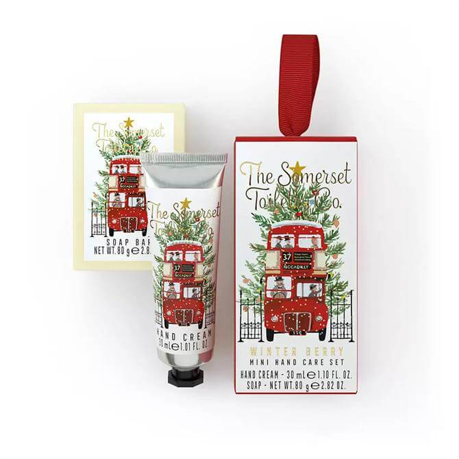 The Somerset Toiletry Co Mini Christmas Hand Care Set