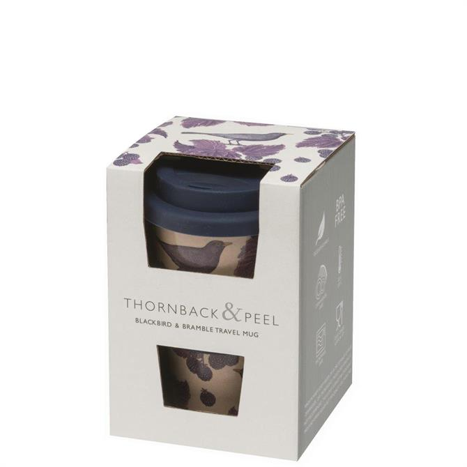 Thornback & Peel Blackbird & Bramble Travel Mug