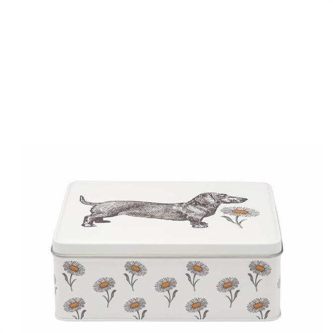 Thornback & Peel Dog & Daisy Rectangular Tin