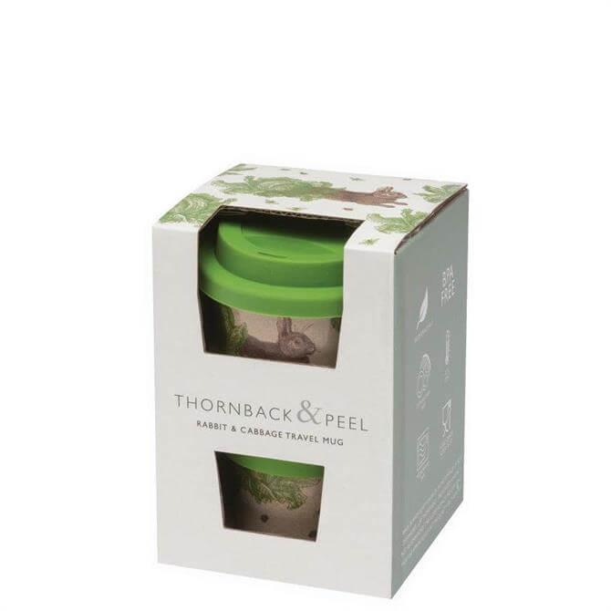 Thornback & Peel Rabbit & Cabbage Travel Mug