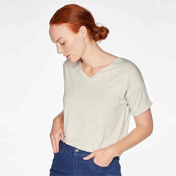 Thought Eliza Seacell Blend V Neck T-Shirt