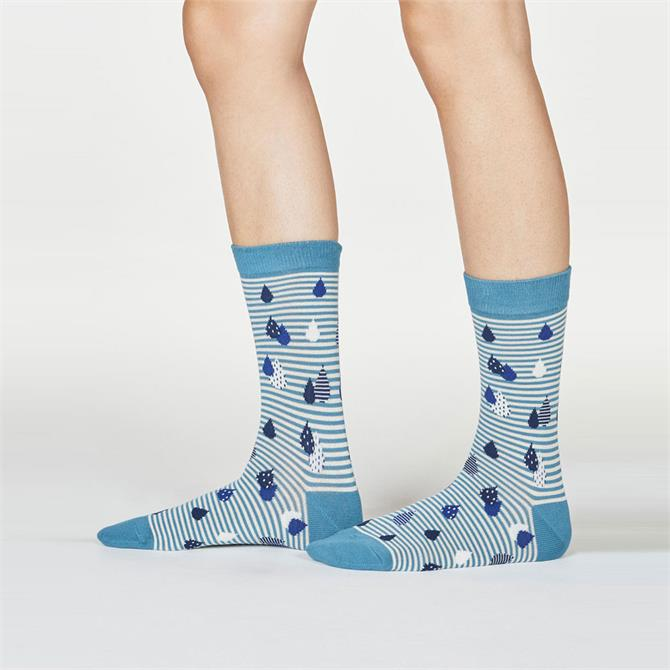 Thought Juliette Raindrop Bamboo Organic Cotton Socks