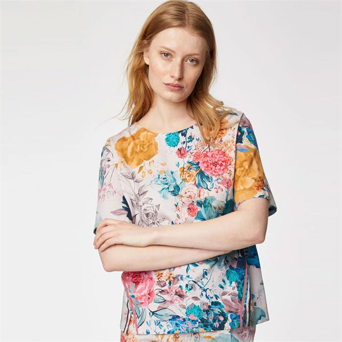 Thought Giardino Statement Floral Print Top