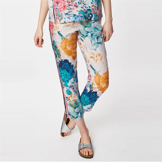 Thought Giardino Floral Print Straight Trousers