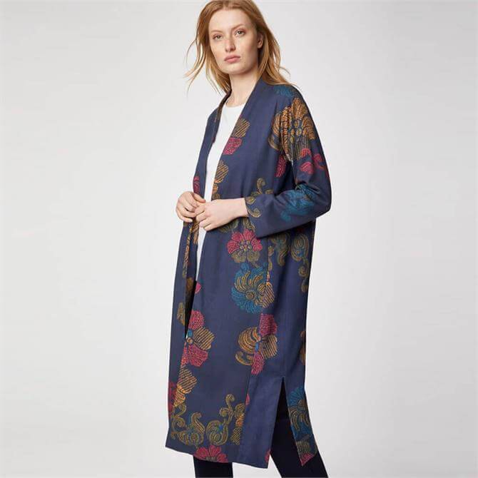 Thought Marrina Bamboo Printed Duster Coat