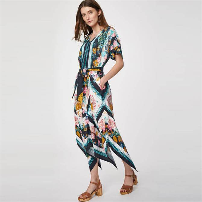 Thought Rhoda Tencel Print Maxi Dress