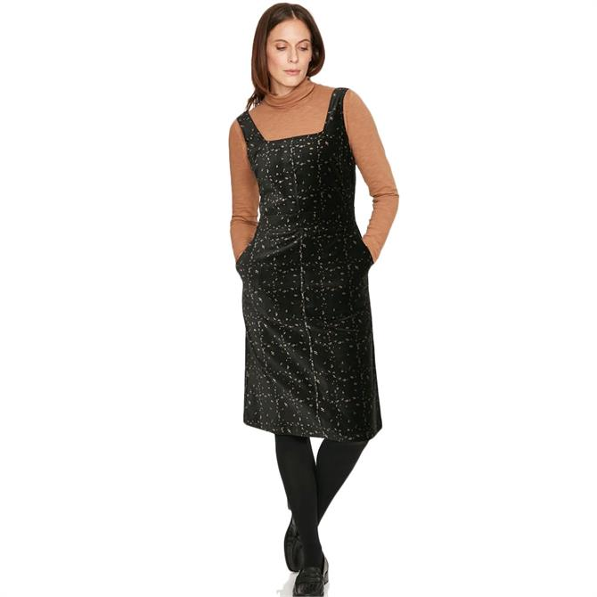 Thought Selina Velvet Pinafore Dress