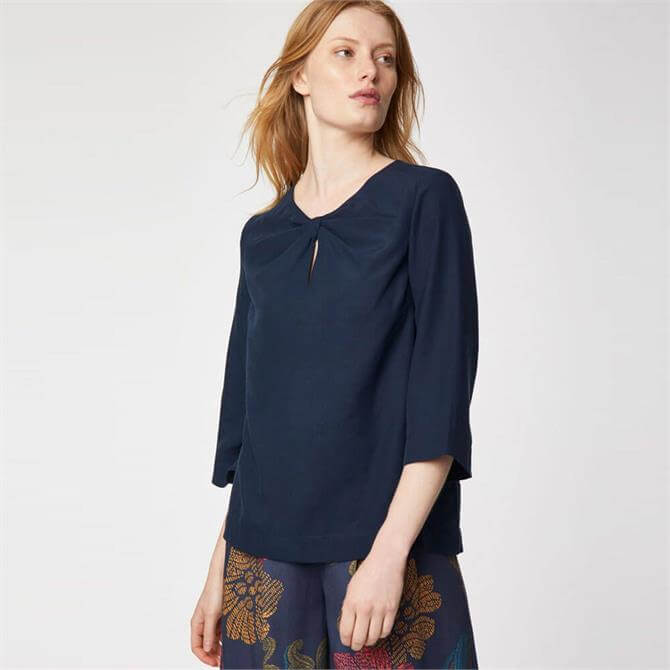 Thought Valentina Box Fit Tencel Blouse