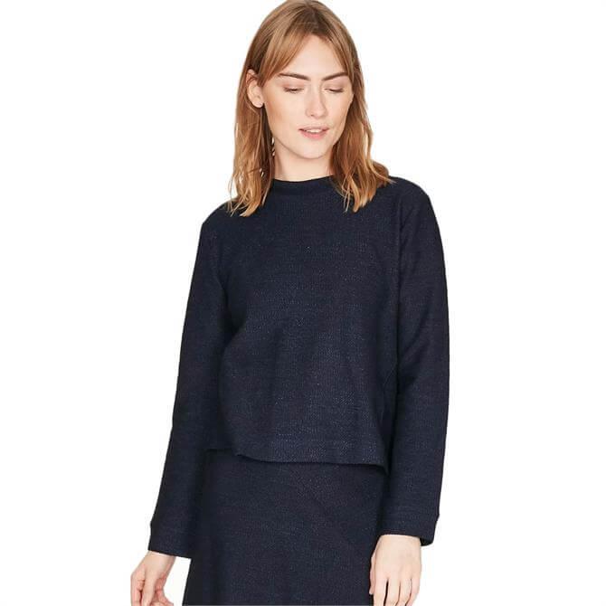 Thought Viola Organic Cotton Boxy Jersey Top