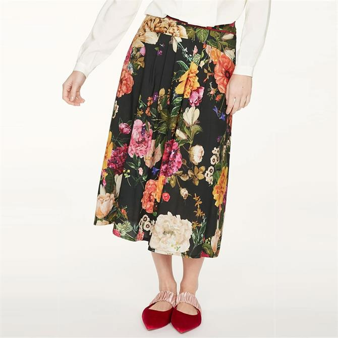 Thought Ada Floral Printed Full Skirt