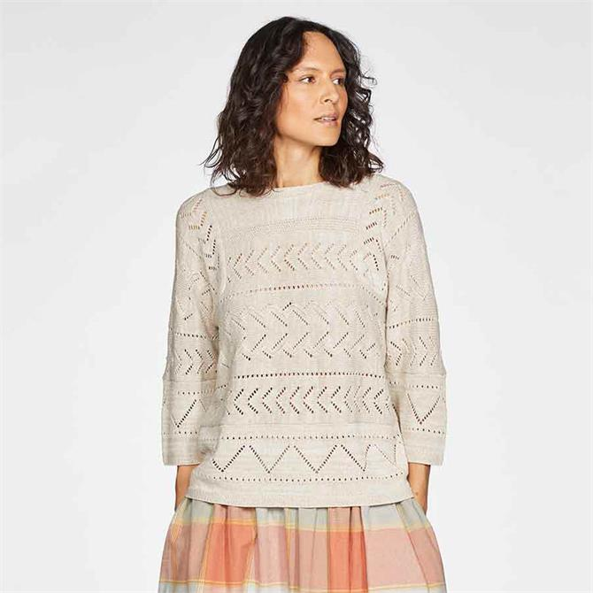 Thought Bea Pointelle Jumper