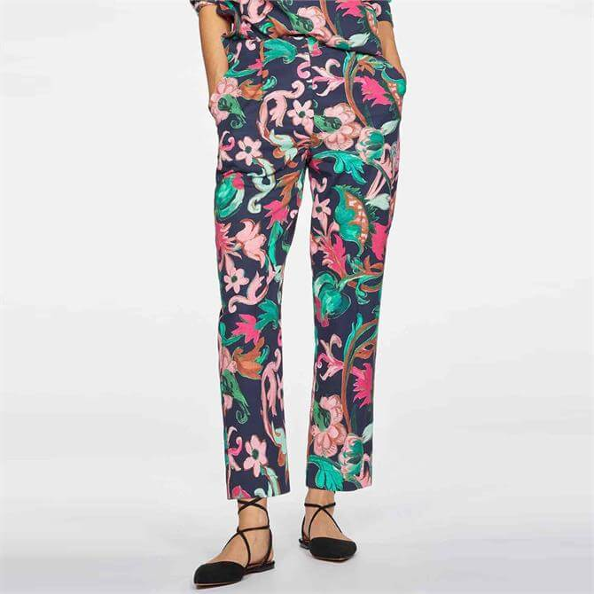 Thought Estelle Woven Printed Trousers