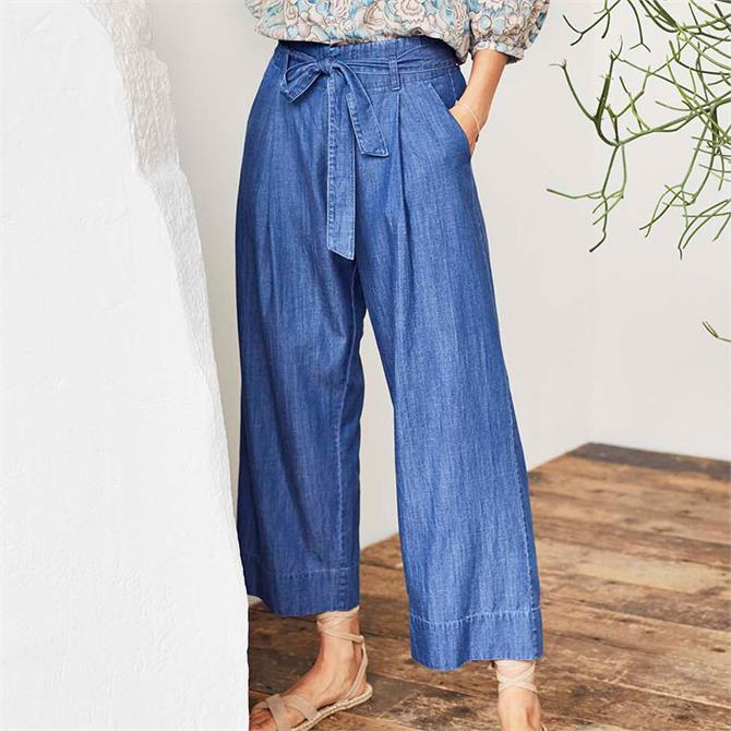 Thought Esther Chambray Culottes