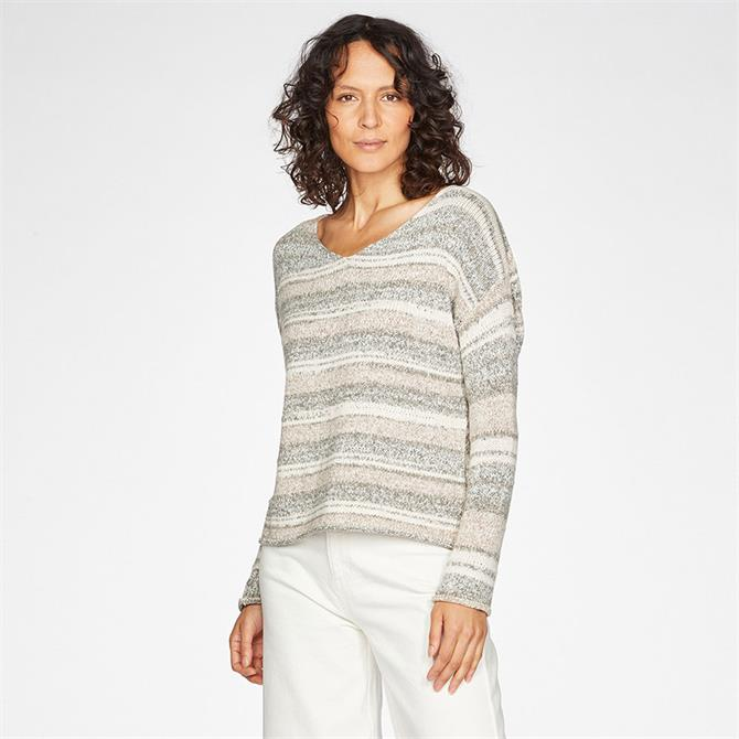 Thought Lena Striped Tape Yarn Jumper