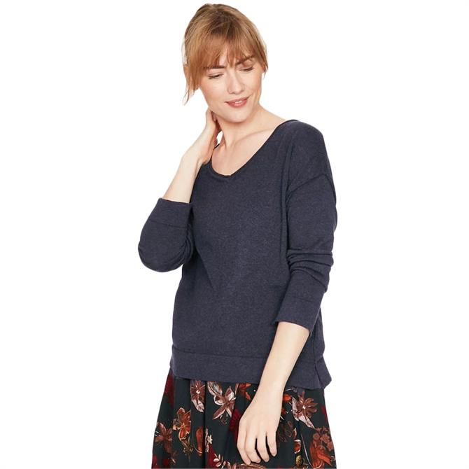 Thought Loren V-Neck Wool Sweater