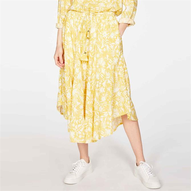 Thought Otomi Floral Print Tiered Skirt