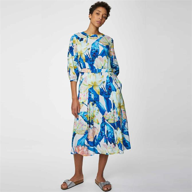 Thought Sabbina Floral Print Midi Dress