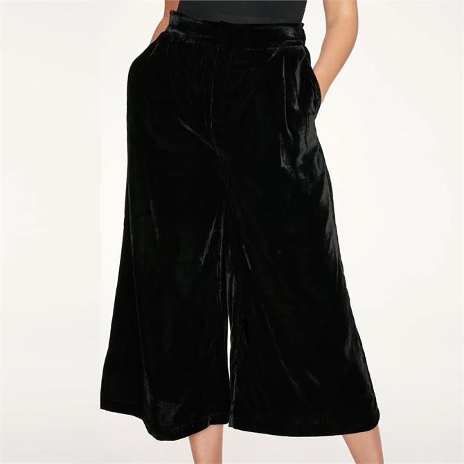 Thought Veronica Drapey Velvet Culottes