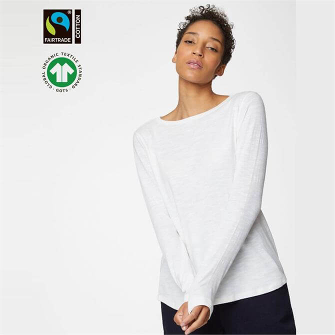 Thought Fairtrade Organic Cotton Long Sleeve Top