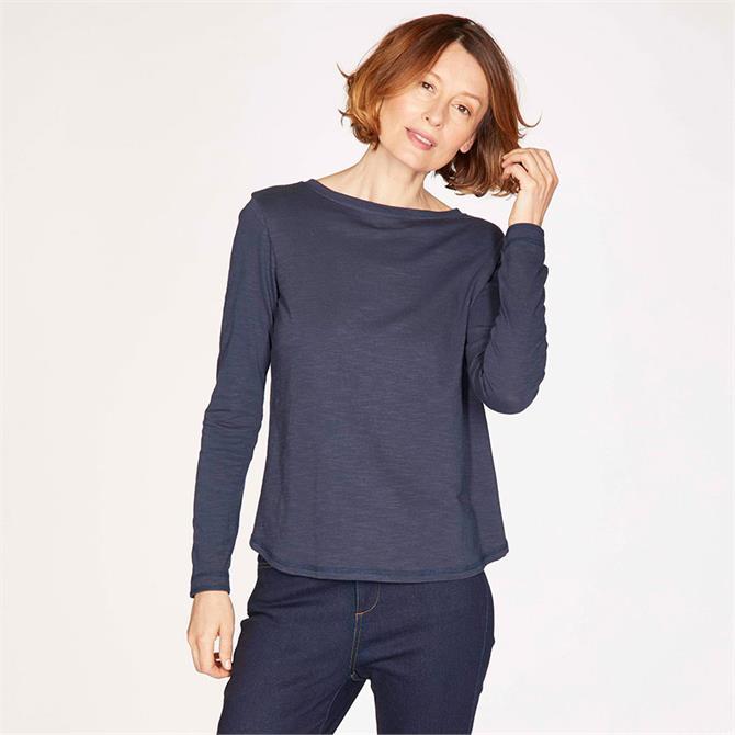 Thought Fairtrade GOTS Organic Cotton Long Sleeve Jersey Top