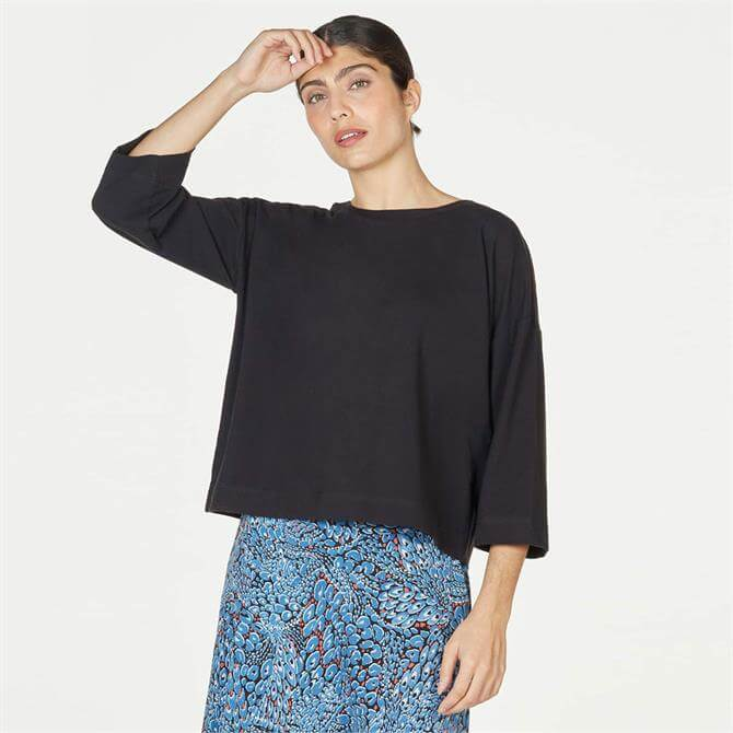 Thought Edna Organic Cotton Wide Sleeve Jersey T-Shirt