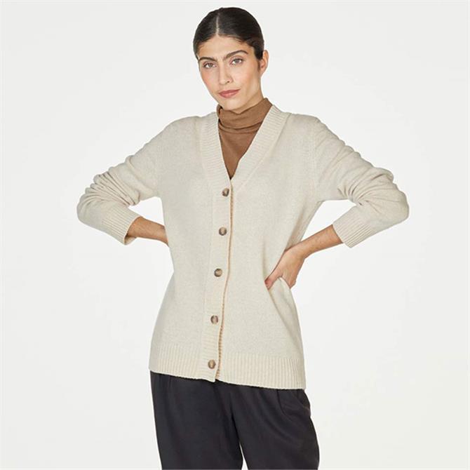 Thought Dafney Lambswool Premium Knit Cardigan