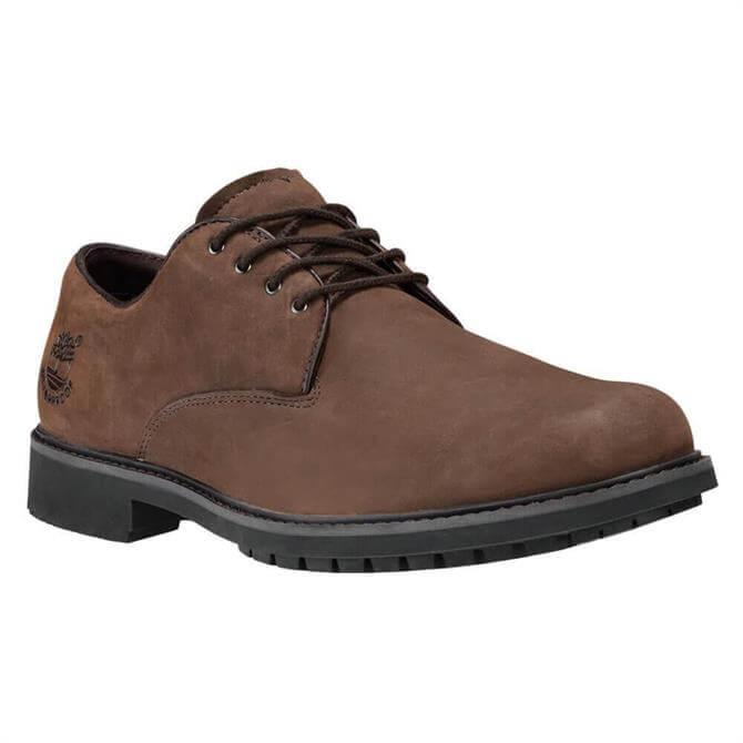 Timberland Stormbucks Waterproof Brown Leather Oxford Shoes
