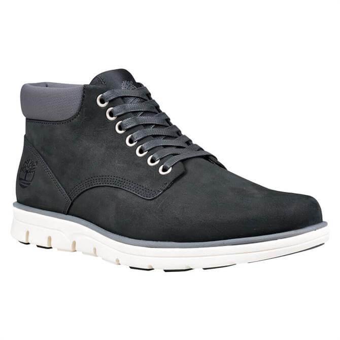 Timberland Bradstreet Grey Black Leather Chukka Boots