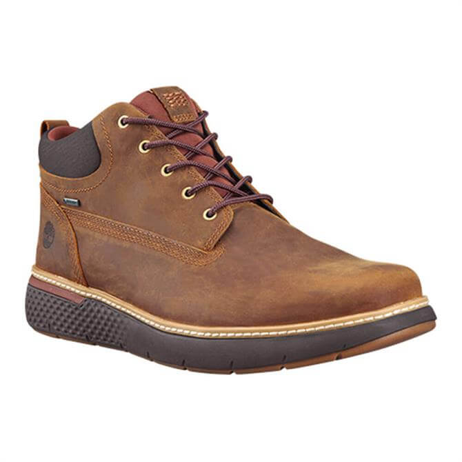 Timberland Gore-Tex Brown Leather Chukka Boots