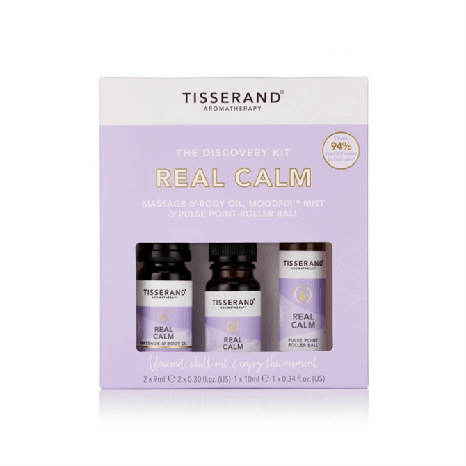 Tisserand Real Calm Discovery Kit 2x 9ml 1x 10ml