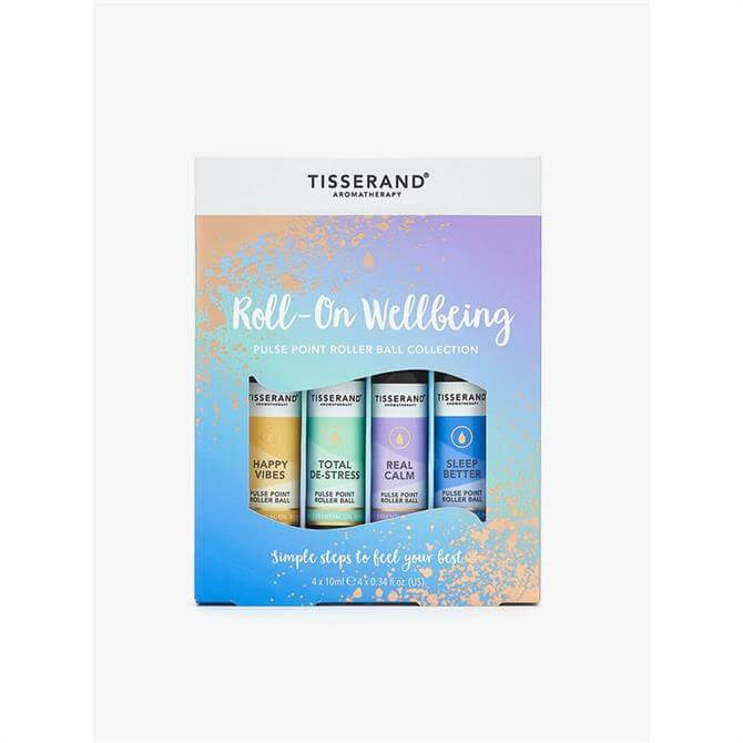Tisserand Little Wellbeing Wonders Rollerball Set- x4 10ml