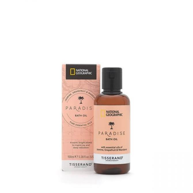 Tisserand National Geographic Retreat Bath Oil