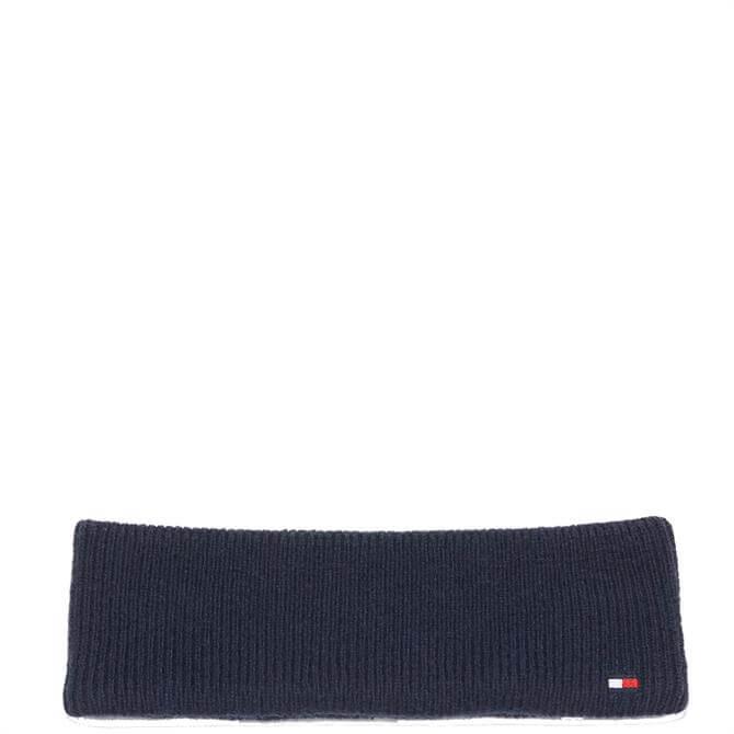 Tommy Hilfiger Flag Navy Knit Headband