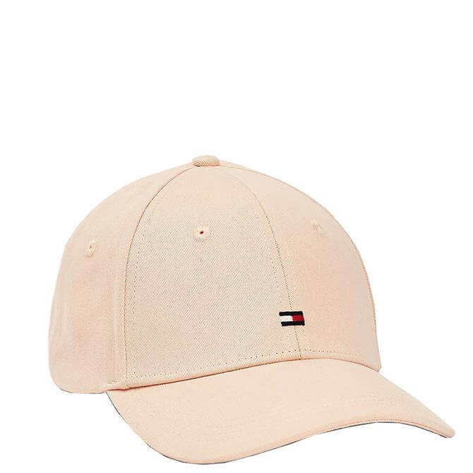 Tommy Hilfiger Pure Cotton Flag Embroidery Pink Baseball Cap