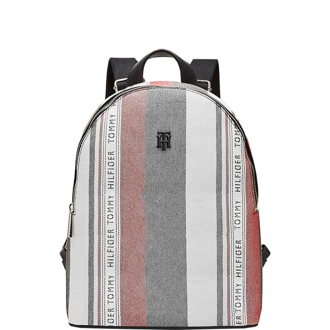 Tommy Hilfiger Multicolour Stripe Canvas Backpack