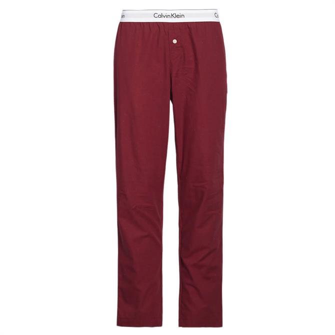 Calvin Klein Pure Cotton Logo Waistband Pyjama Trousers
